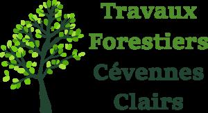 travaux forestiers Cévennes Clairs élagage abattage débroussaillage Alès nimes gard logo